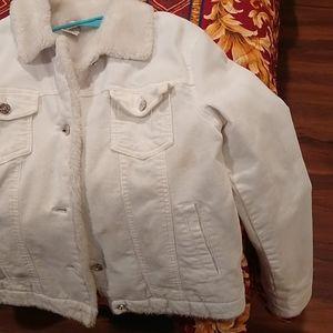 White fit women's jacket